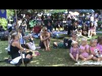 Parents & Children enjoying Mim\'s Puppets